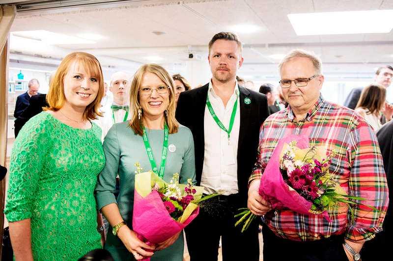 Siktar högt. Annie Lööf får nytt sällskap i Centerns partitopp. Riksdagsledamoten Kristina Yngwe och EU-parlementarikern Fredrick Federley föreslås som ledamöter i verkställande utskottet.