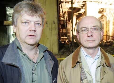 Aftonbladets Urban Andersson och Peter Kadhammar på plats i Glasgow.