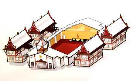 Buddharam blir det största buddisttemplet i Europa.