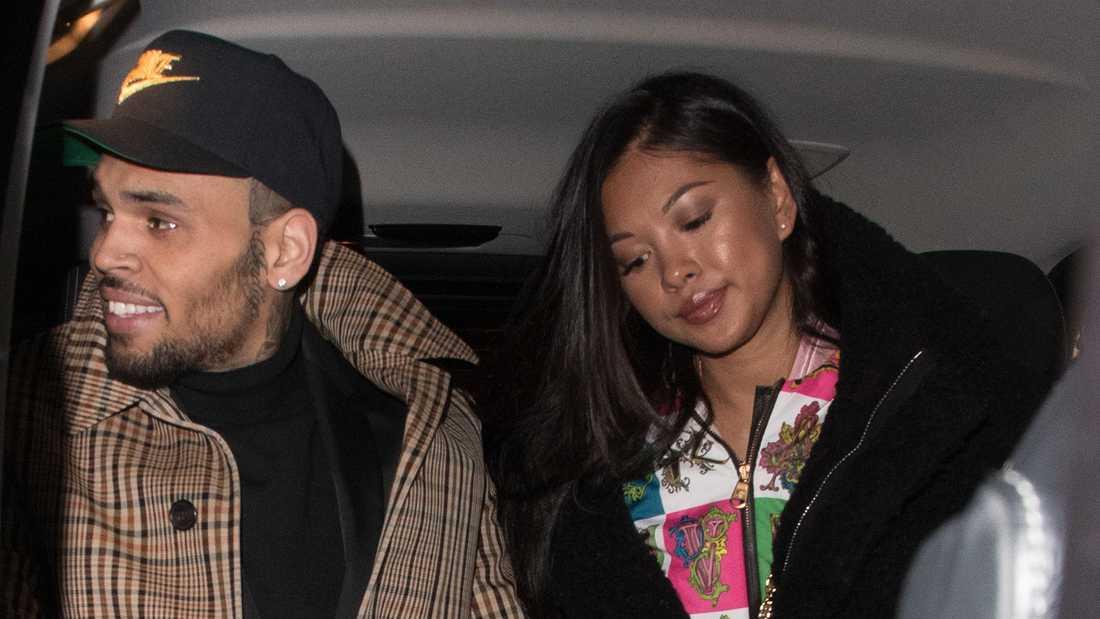 Chris Brown och Ammika Harris.