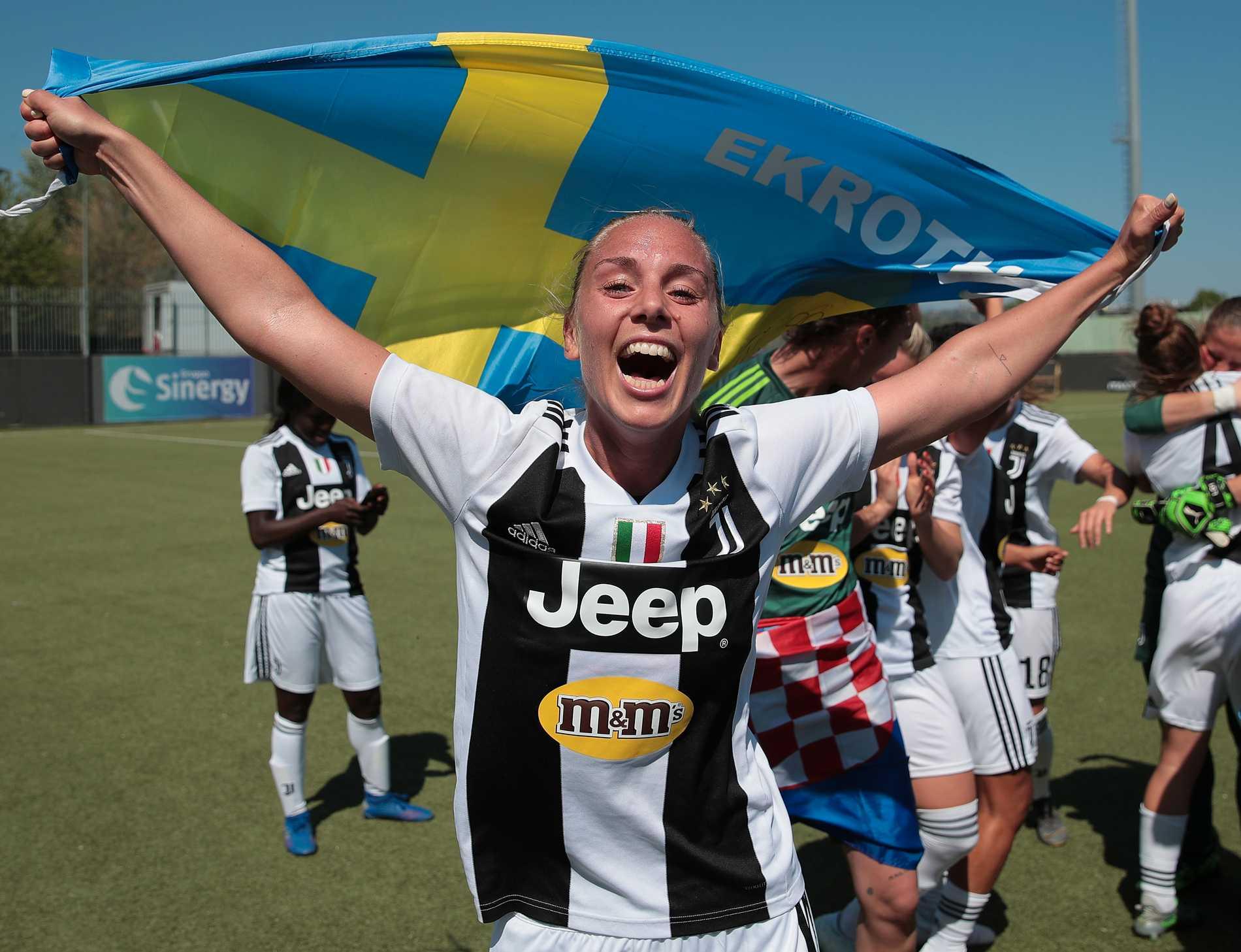 Petronella Ekroth under tiden i Juventus, 2019.