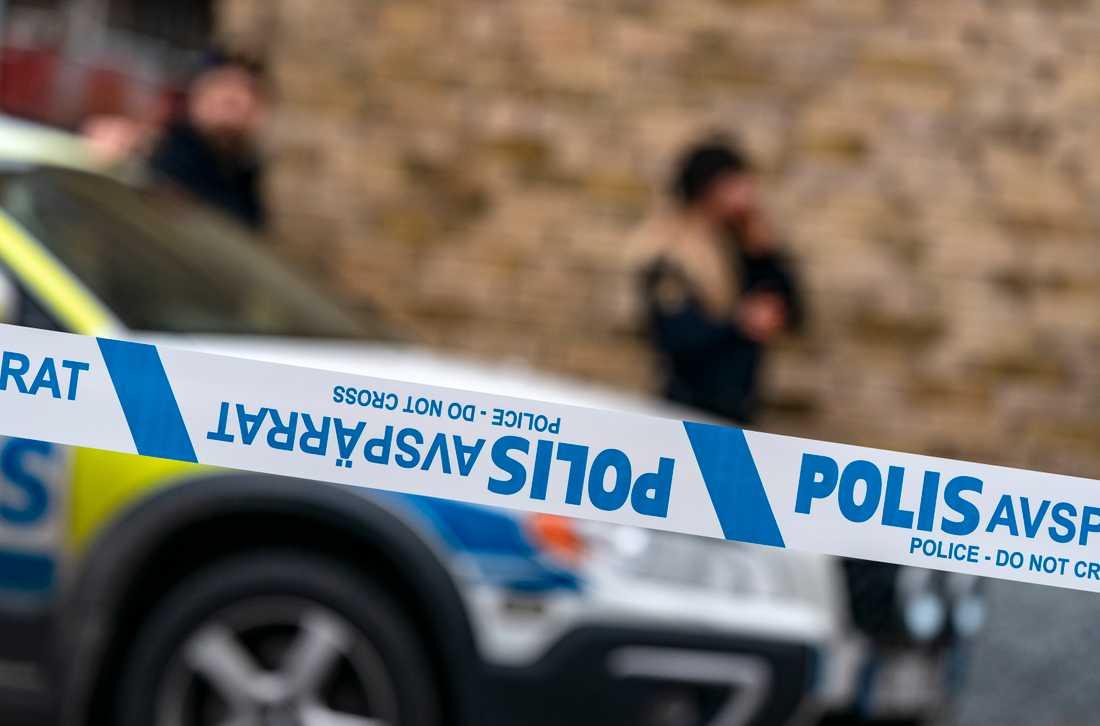 Två personer har gripits efter en misshandel vid järnvägsstationen i Karlshamn. Arkivbild.