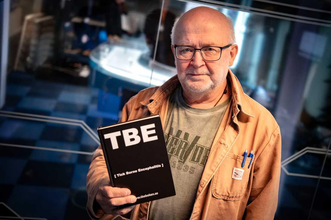 Svante Lidén har kämpat mot TBE i tio år.