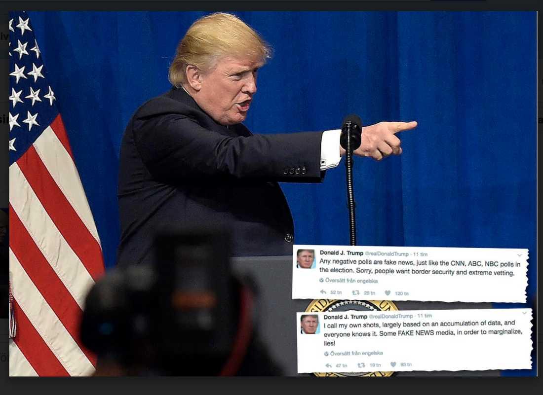 Trumps påhopp på media och rättsväsende är fascistisk affärsidé, ingen bisak.