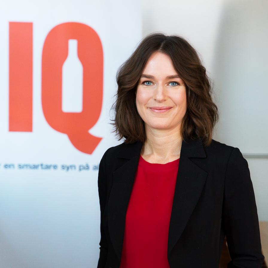 Karin Hagman, vd på IQ.
