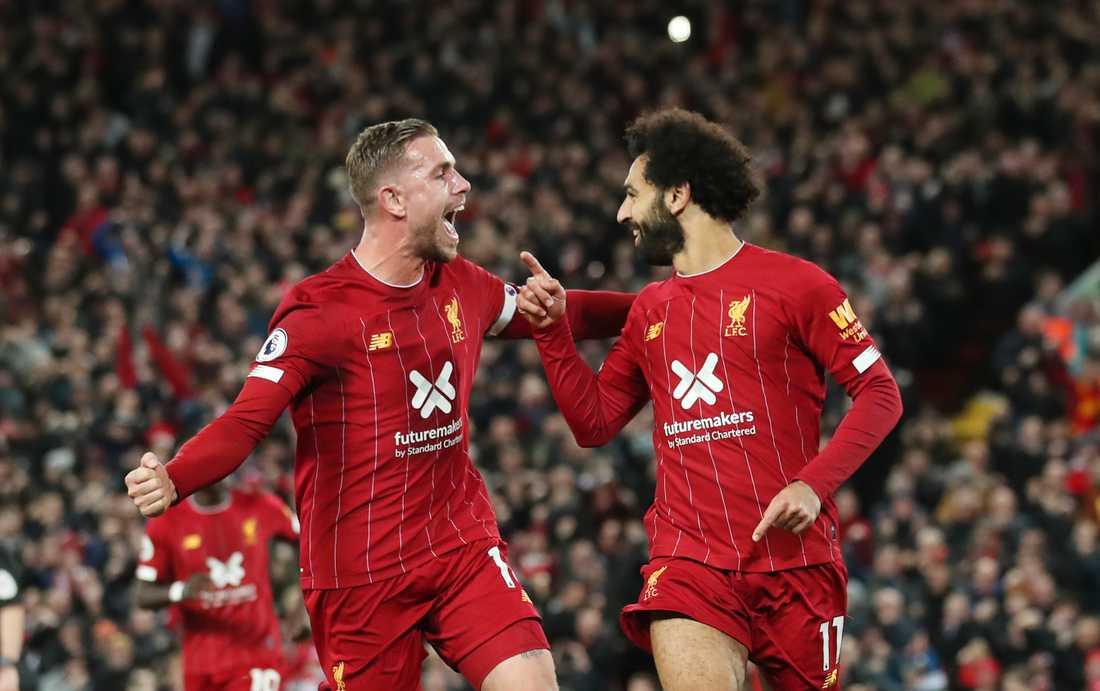 Henderson och Salah.