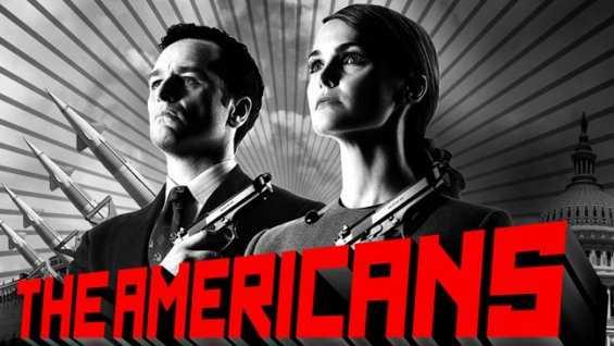 """""""The Americans"""" med Matthew Rhys och Keri Russell."""