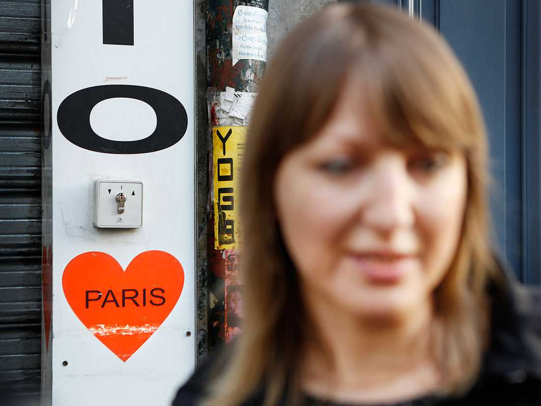 Ira de Puiff tycker att parisarna är ett modigt släkte.