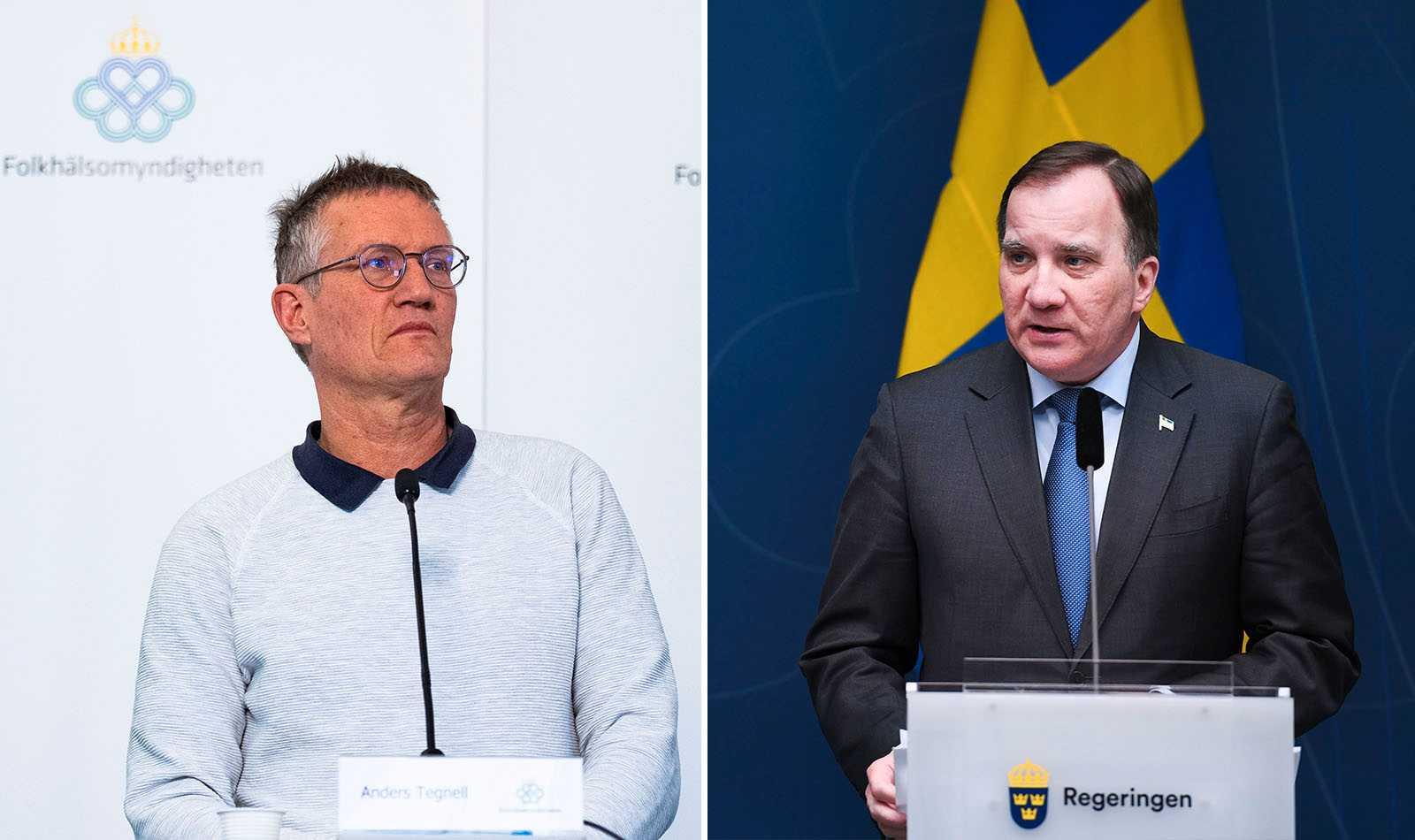 Förtroendet för Tegnell och Löfven ökar