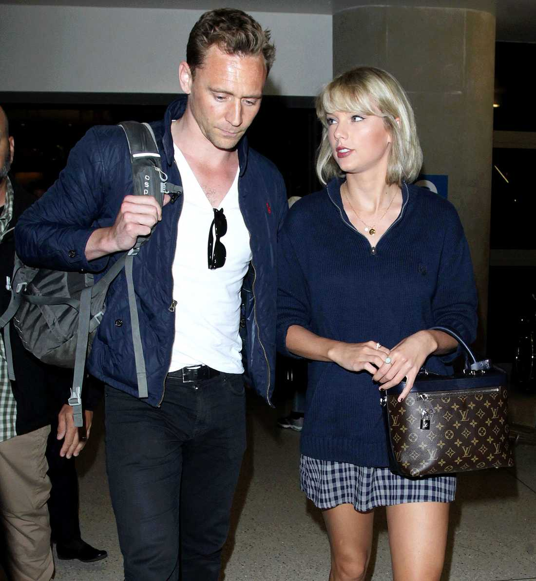 Tom Hiddleston och Taylor Swift.