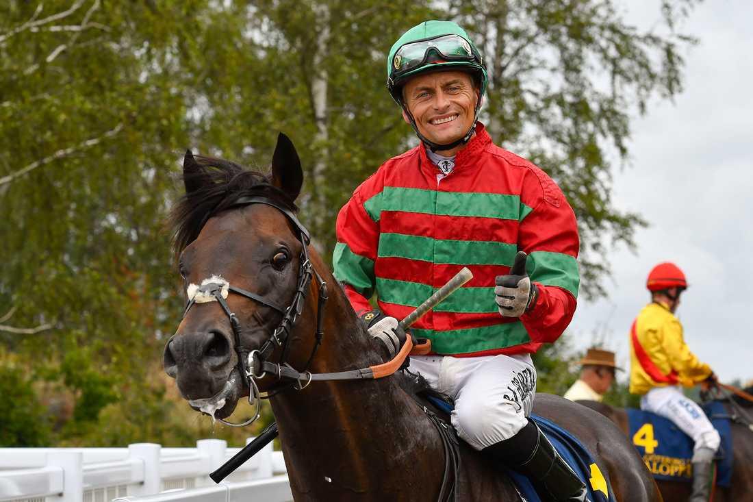 Svenske stjärnjockeyn Per-Anders Gråberg.