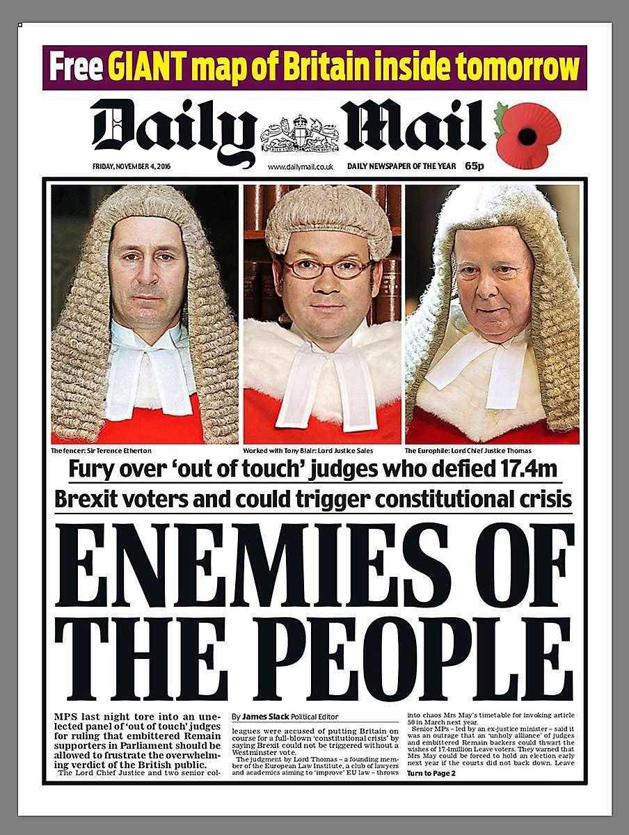 Lego slutar synas i brittiska Daily Mail.