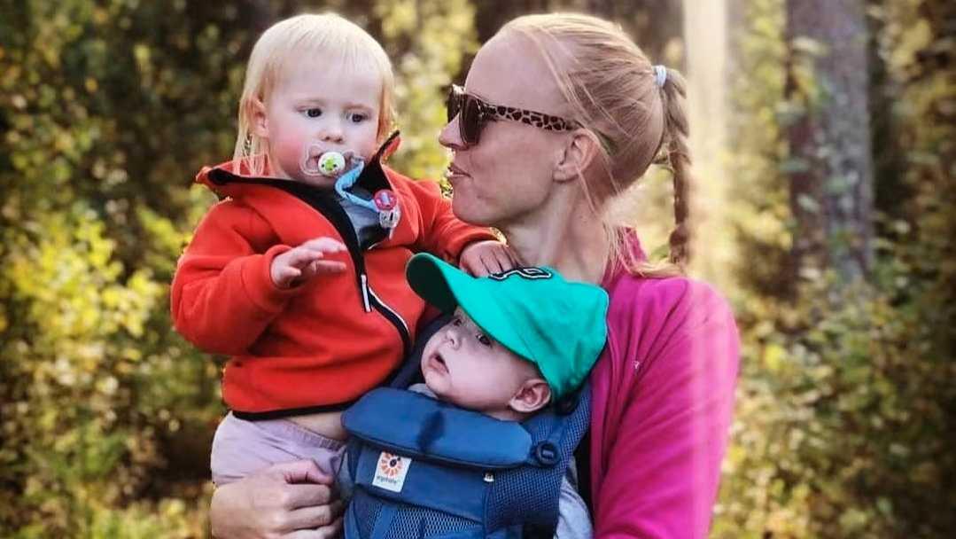 Linda Johansson blev mamma till barnen Alma och Mio via assisterad befruktning.