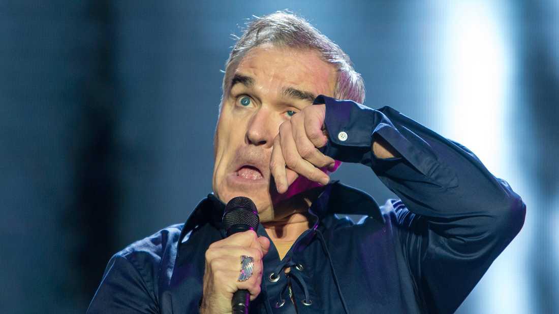 Morrissey på Way Out West i Göteborg 2016.