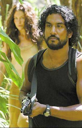 Lilly & Andrews som Kate & Sayid.