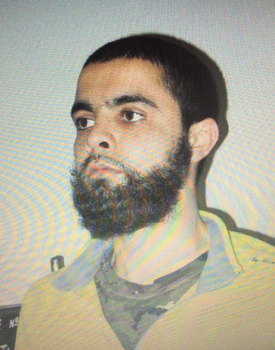 Den utpekade gärningsmannen Radouane Lakdim , 26.