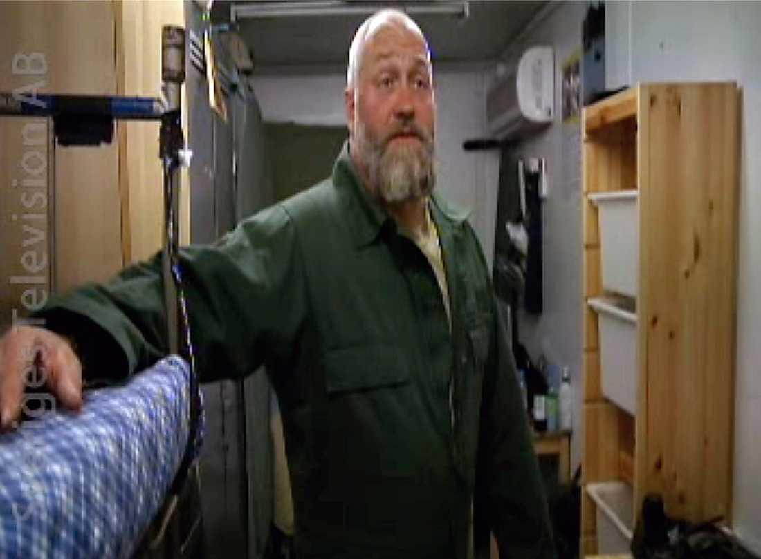 Vagnchefen Micke i SVT-dokumentären.