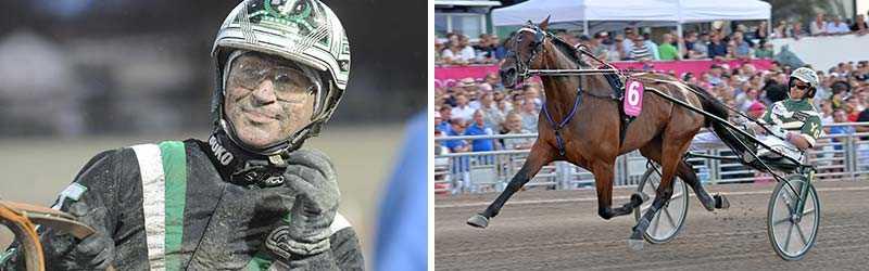 Johnny Takter kör Maven i Prix de France