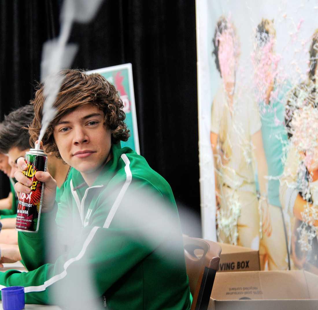 Harry Styles Bus med Harry