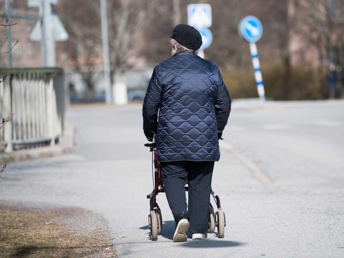 Bekymra dig inte för pensionen nu. Arkivbild.