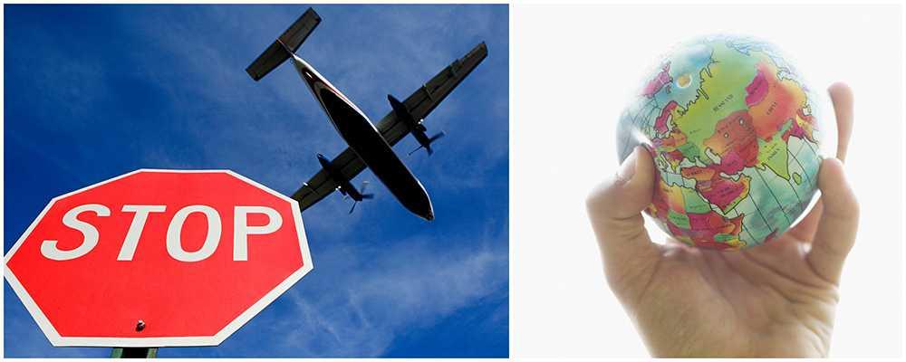 En undersökning från Ticket visar att vi svenskar struntar i klimatutsläpp när vi flyger.