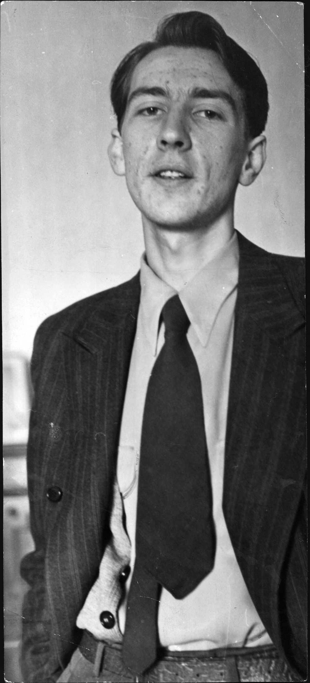 Tomas Tranströmer 1954 – då 23 år gammal.