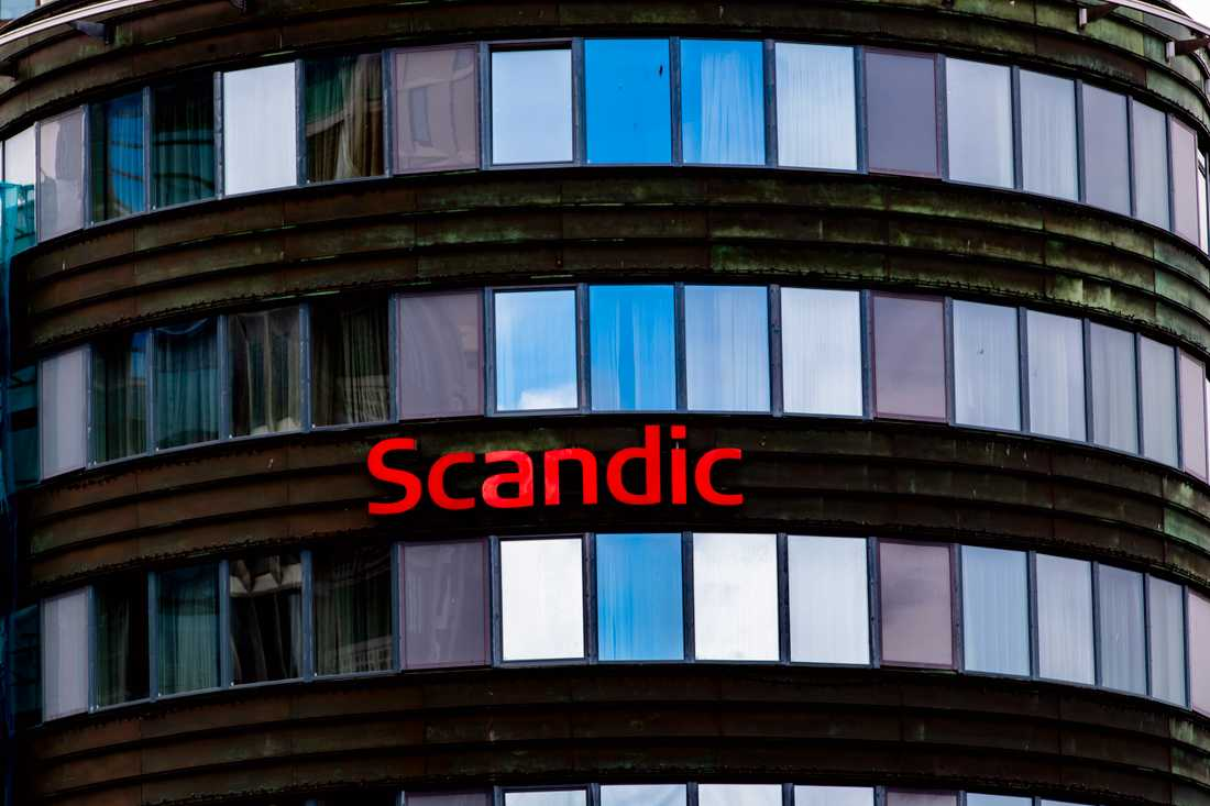 Ett Scandic-hotell i Oslo. Arkivbild.