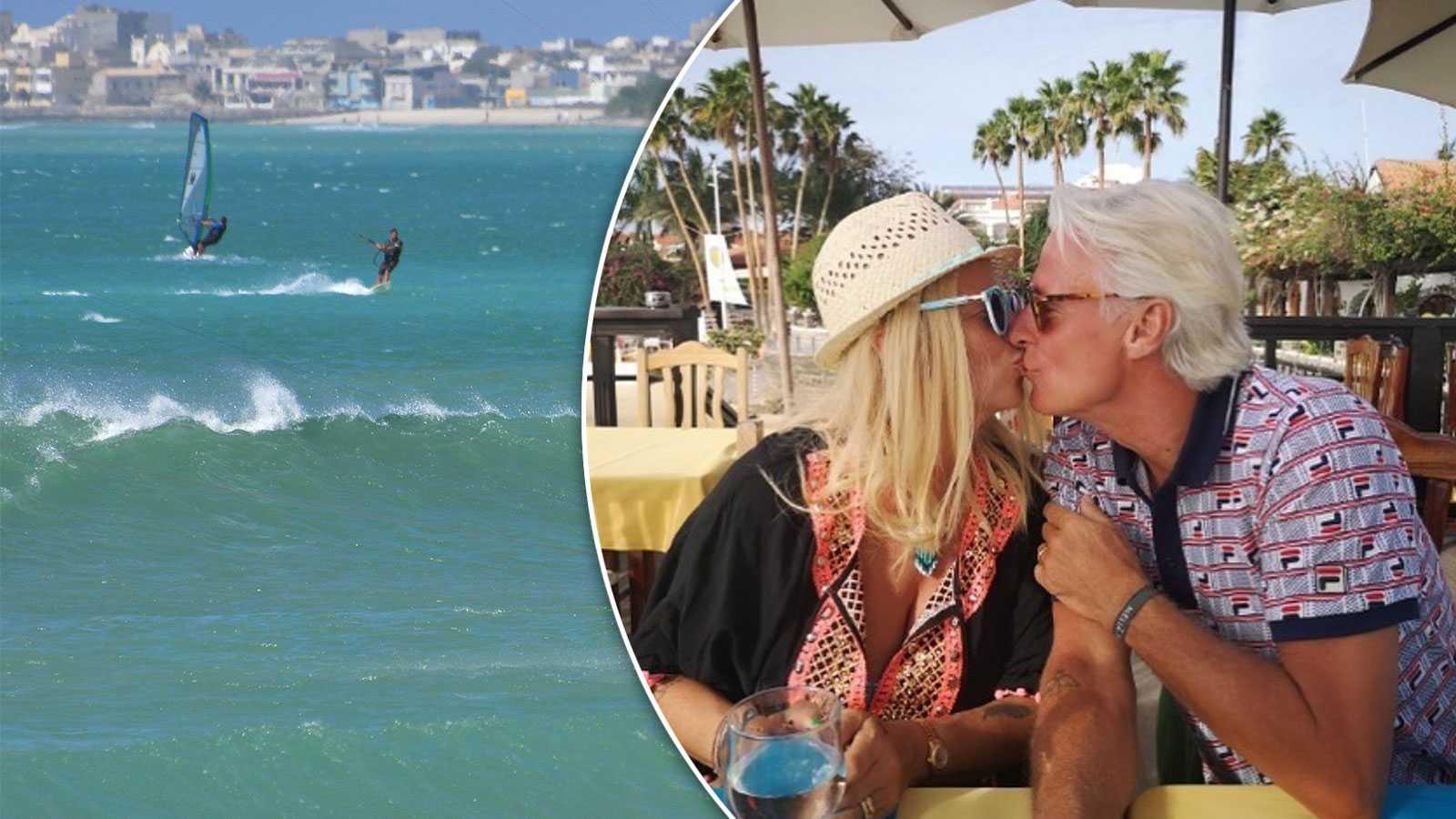 Björn och Patricia Borg om nya huset på Kap Verde