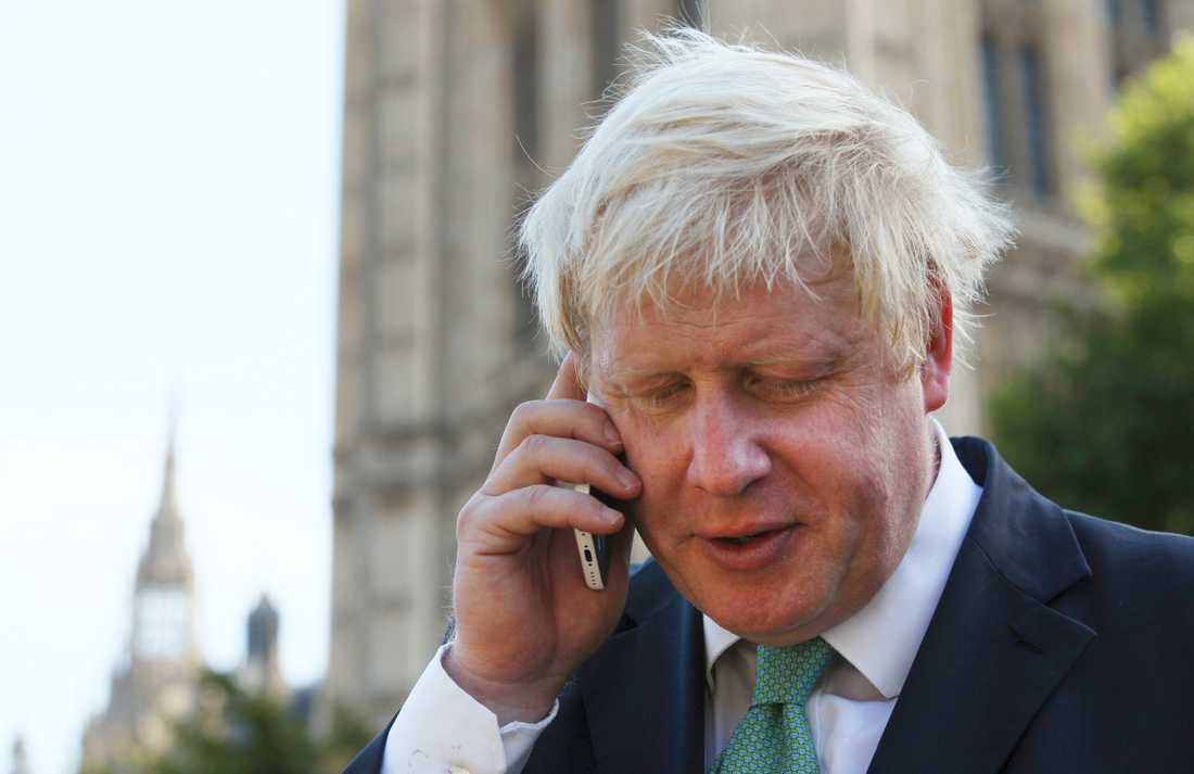 Storbritanniens utrikesminister Boris Johnson.