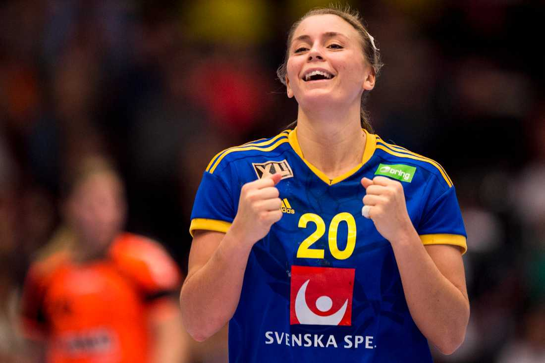 Isabelle Gulldén ser fram emot danska taktiken.