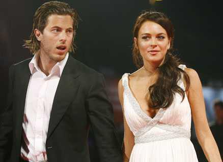 Miljonärssonen Harry Morten och filmstjärnan Lindsay Lohan uppges ska gifta sig.