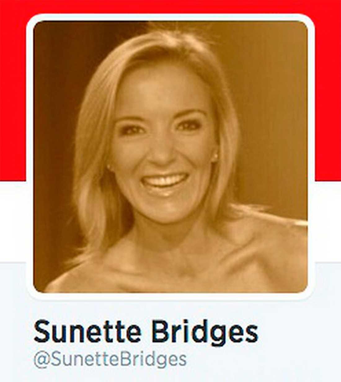 Sångerskan Sunette Bridges, en viktig röst för vita separatister i Sydafrika, samarbetar med RHA. Bild: Twitter