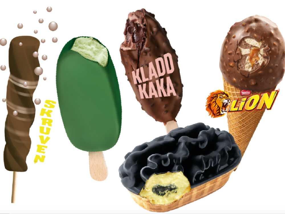 Årets glassnyheter 2020 är här.