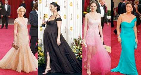 bäst och sämst Kate Hudson och Catherine Zeta-Jones (till vänster) är Oscarsfestens bäst klädda enligt aftonbladet.se:s läsare. Hilary Swank och Marcia Gay Harden får sämst placeringar i omröstningen.