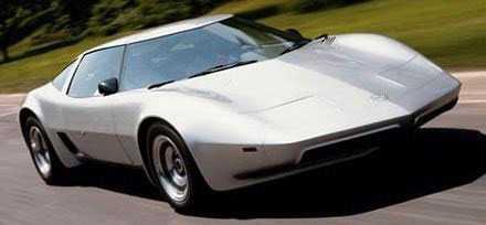 Chevrolet Aerovette Aerovetten var Chevrolets svar på DeTomaso Pantera. Modellen fick grönt ljus för produktion, men innan bygget satt igång, dödade dålig ekonomi modellen.