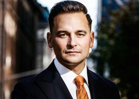 Andreas Hatzigeorgiou, vd för Stockholms handelshammare.