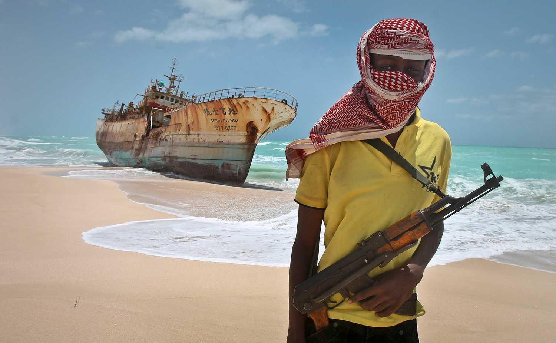 En somalisk pirat. ARKIVBILD