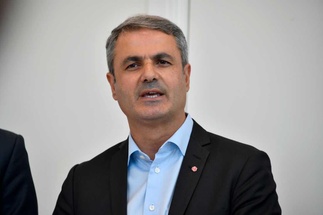 Energi- och samordningsminister Ibrahim Baylan.