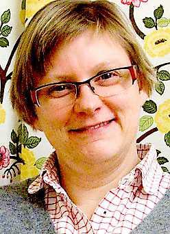 Eva-Lotta Grantén, forskare på Uppsala universitet och präst i Landskrona.