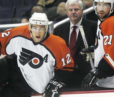 SUPERDUON Simon Gagne och Peter Forsberg står båda på tio poäng – och är nu NHL:s mest fruktade radarpar.
