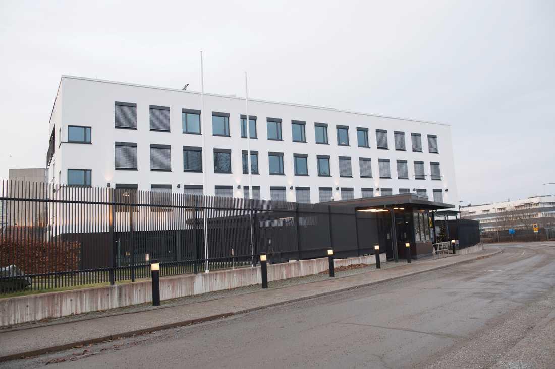 Tysklands ambassad på Skarpögatan i Stockholm.