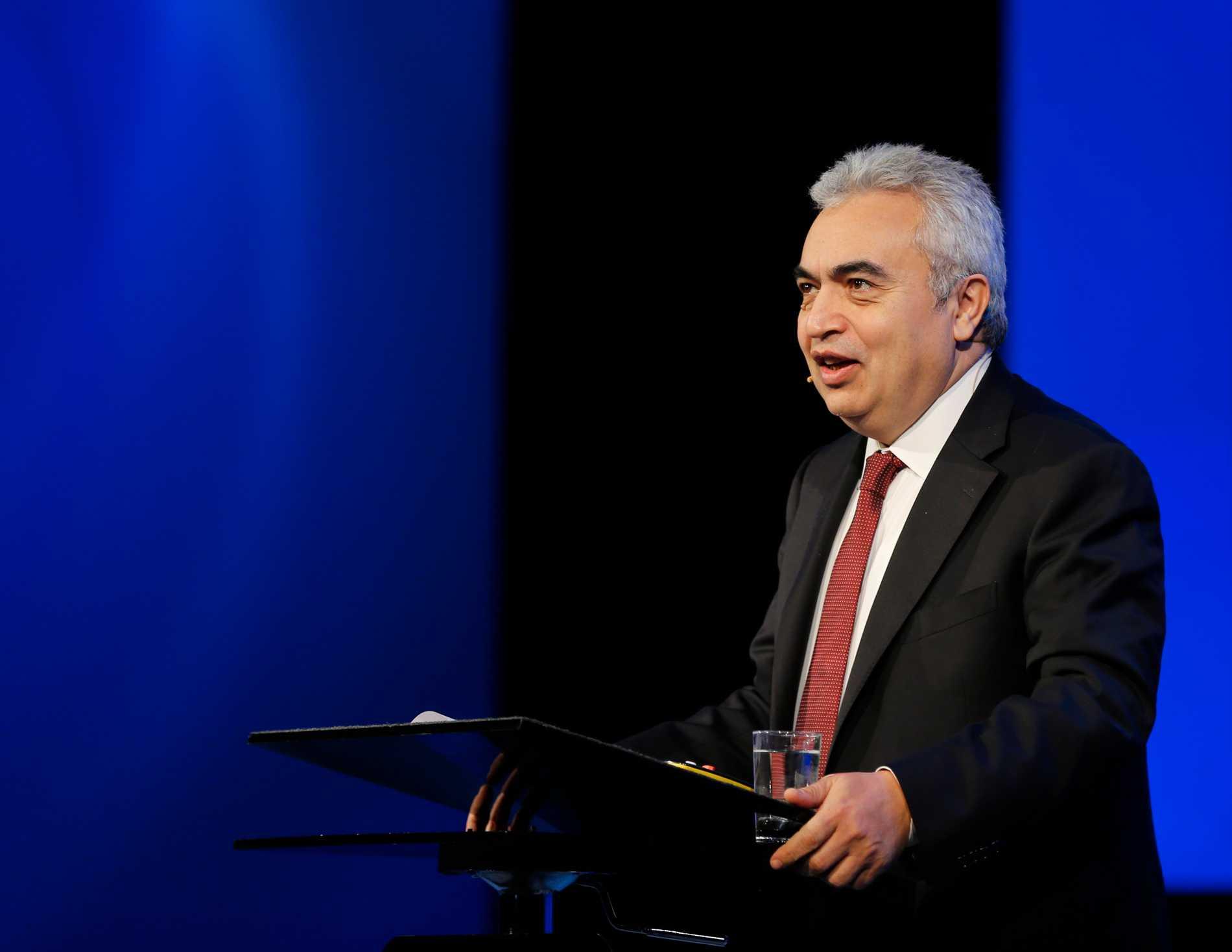Fatih Birol, ordförande för Internationella energimyndigheten, anser att kampen mot det nya coronaviruset kan hjälpa klimatomställningen. Arkivbild.