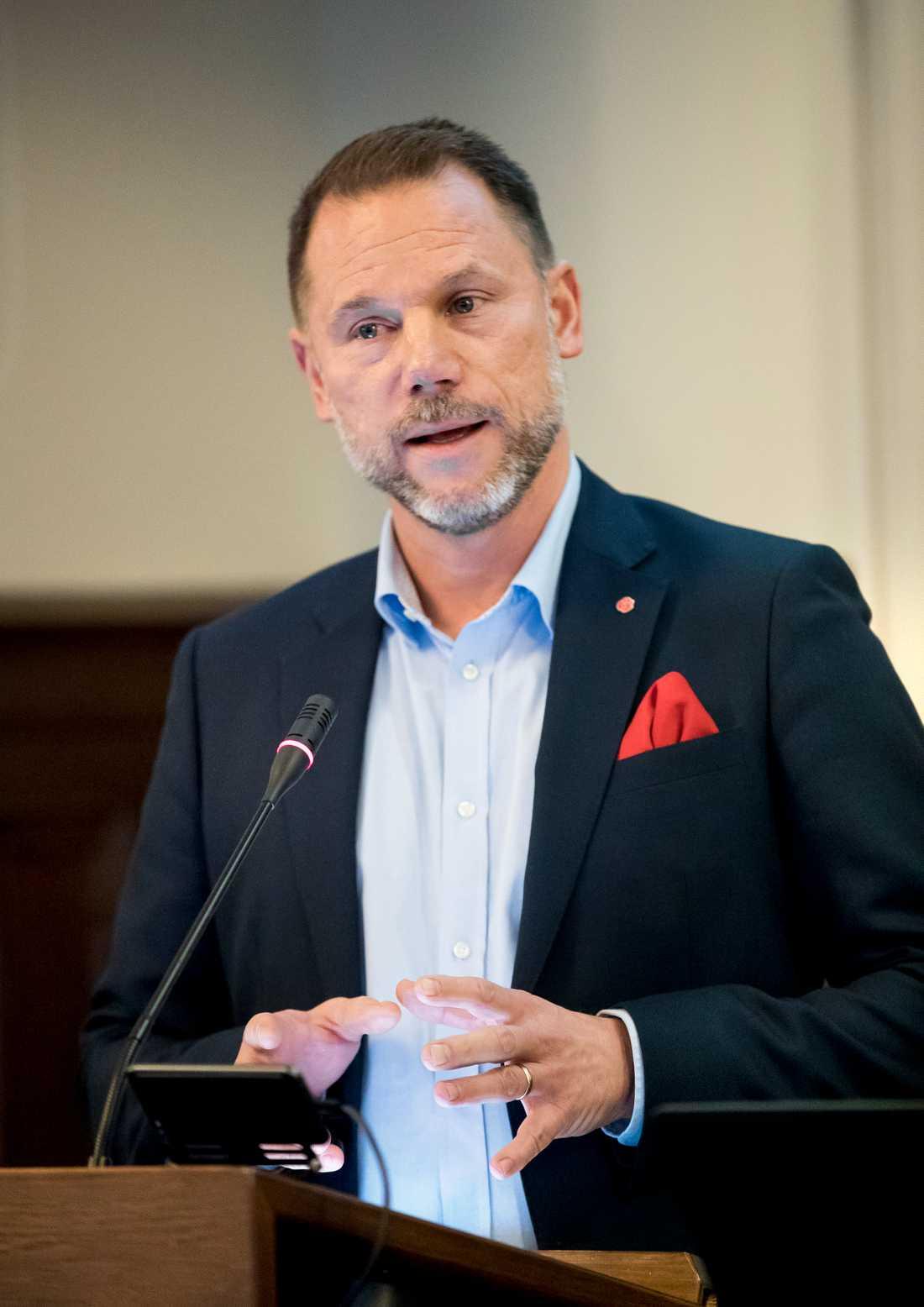 Får kritik. Andreas Svahn (S), regionstyrelsens ordförande i region Örebro.