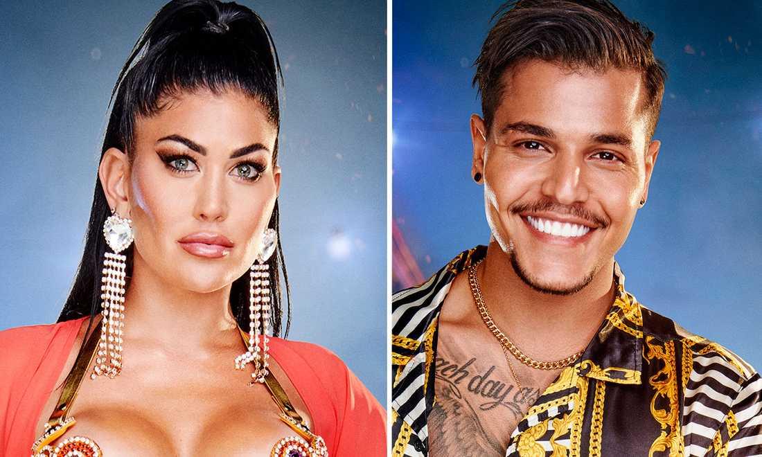 Sara Bolay och Haidar Juma är ett par.