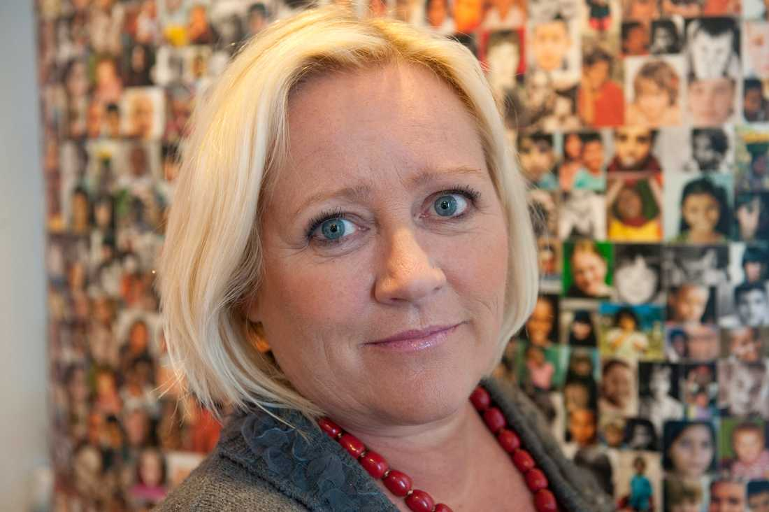 Rädda Barnen Elisabeth Dahlin, generalsekreterare på Rädda Barnen.