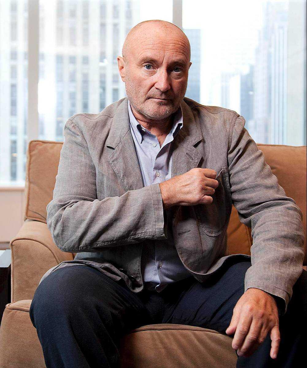 Superstjärnan Phil Collins.