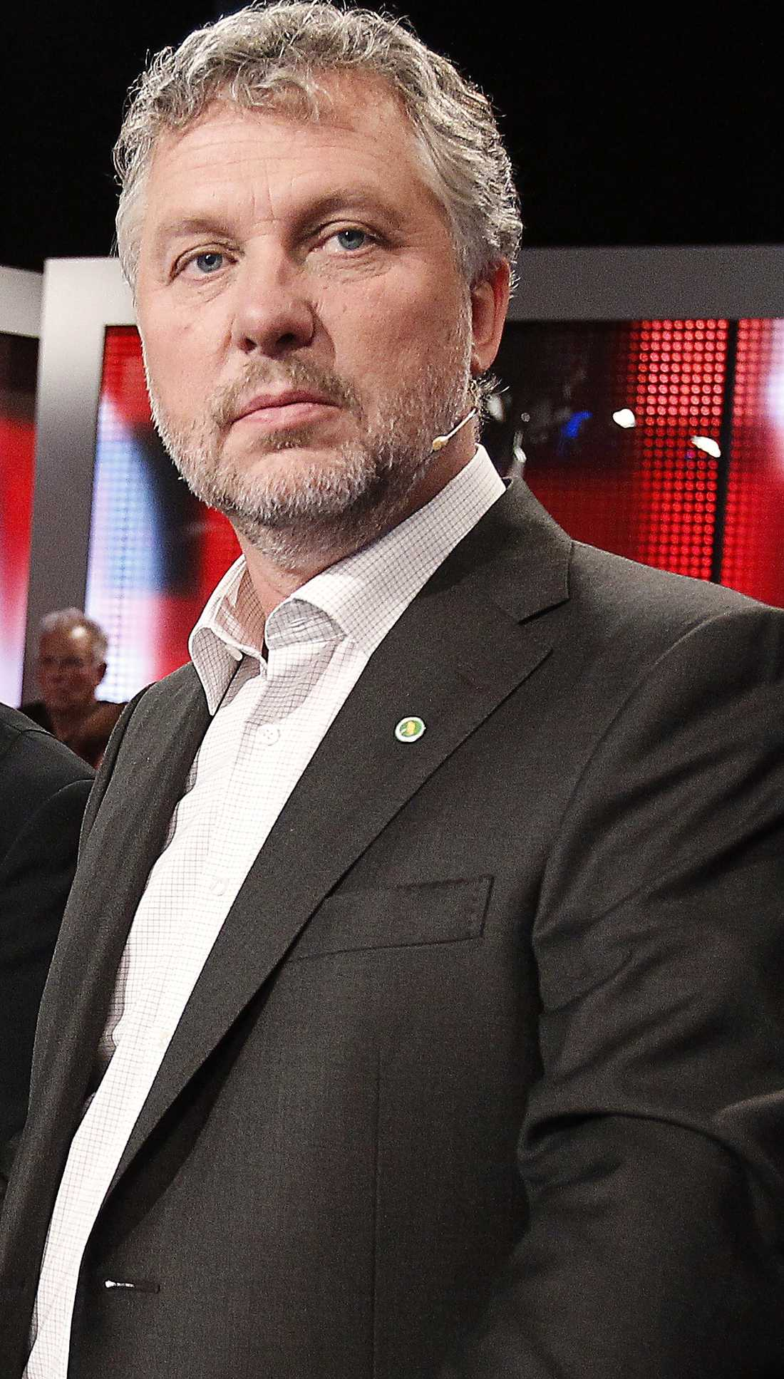 Peter Eriksson (MP), ordförande i KU.