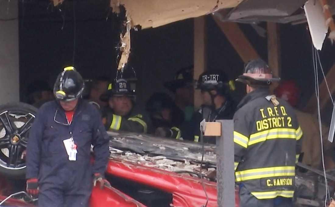 Olyckan inträffade i New Jersey på söndagsmorgonen.