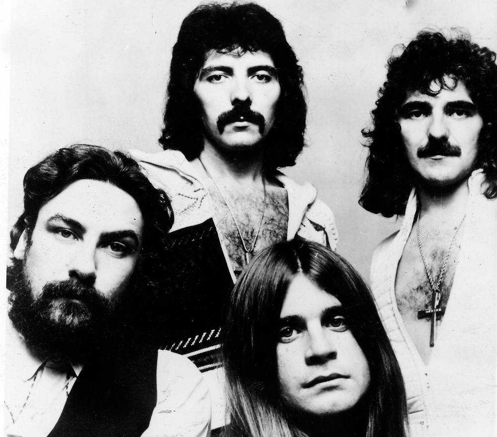 Black Sabbath under storhetstiden på 70-talet. Från vänster Bill Ward, Tony Iommi, Ozzy Osbourne och Geezer Butler.
