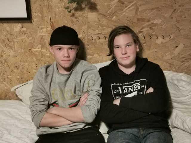 Kevin Carlsson och Casper Nedemark.
